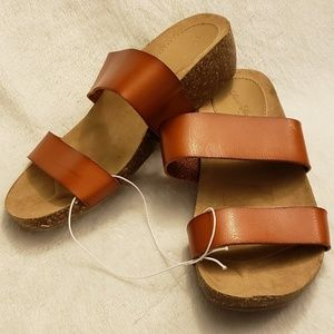 Universal Thread | Kerryl Wedge Sandals | NEW